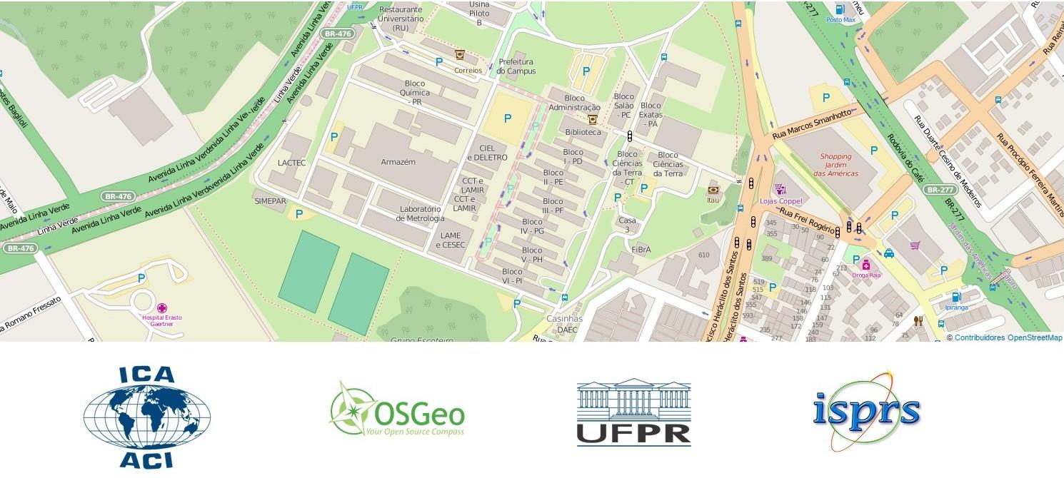 Laboratório Geoespacial Livre – UFPR